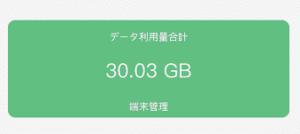 どんなときもWIFI 30GB
